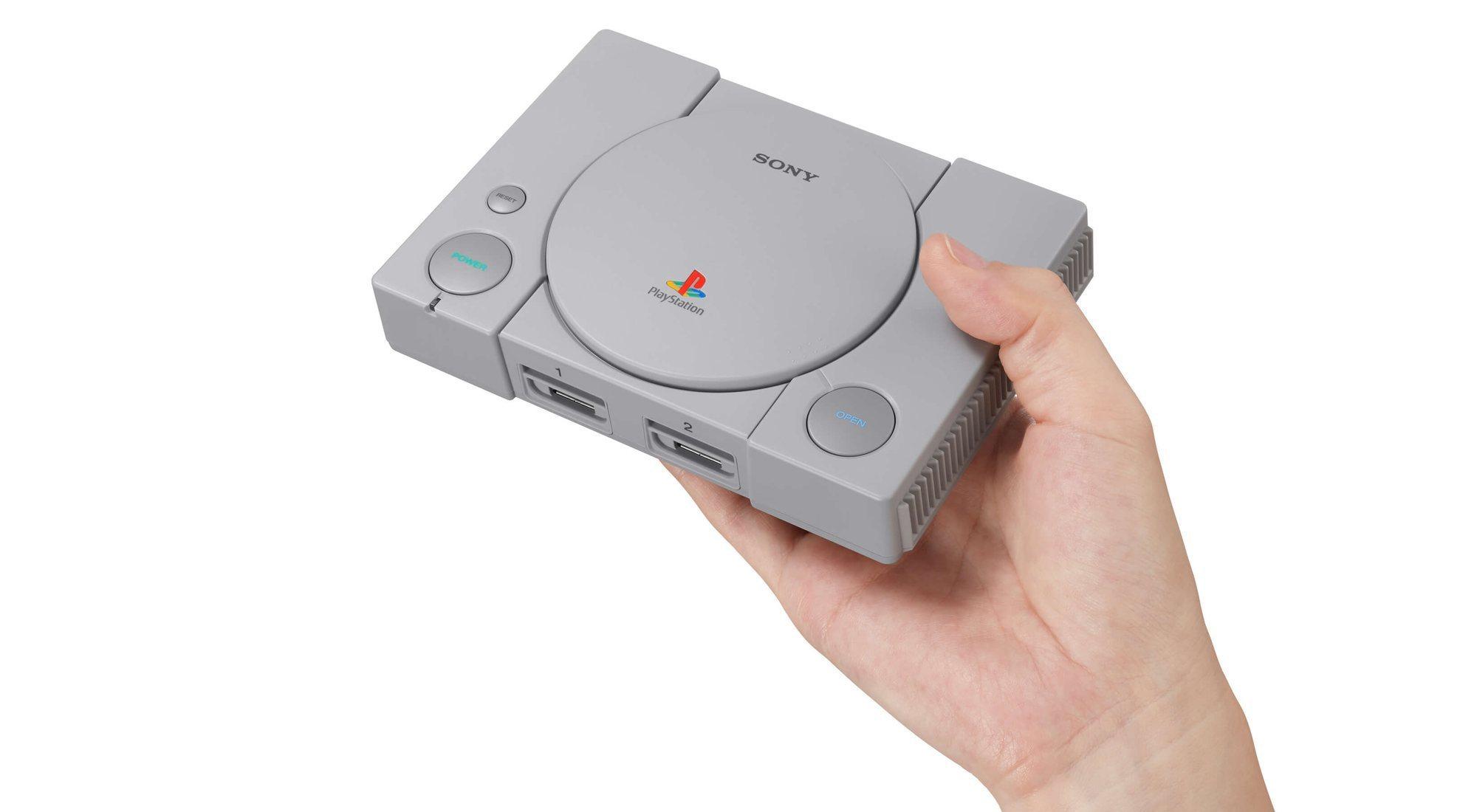 PlayStation Classic: la consola para los más nostálgicos