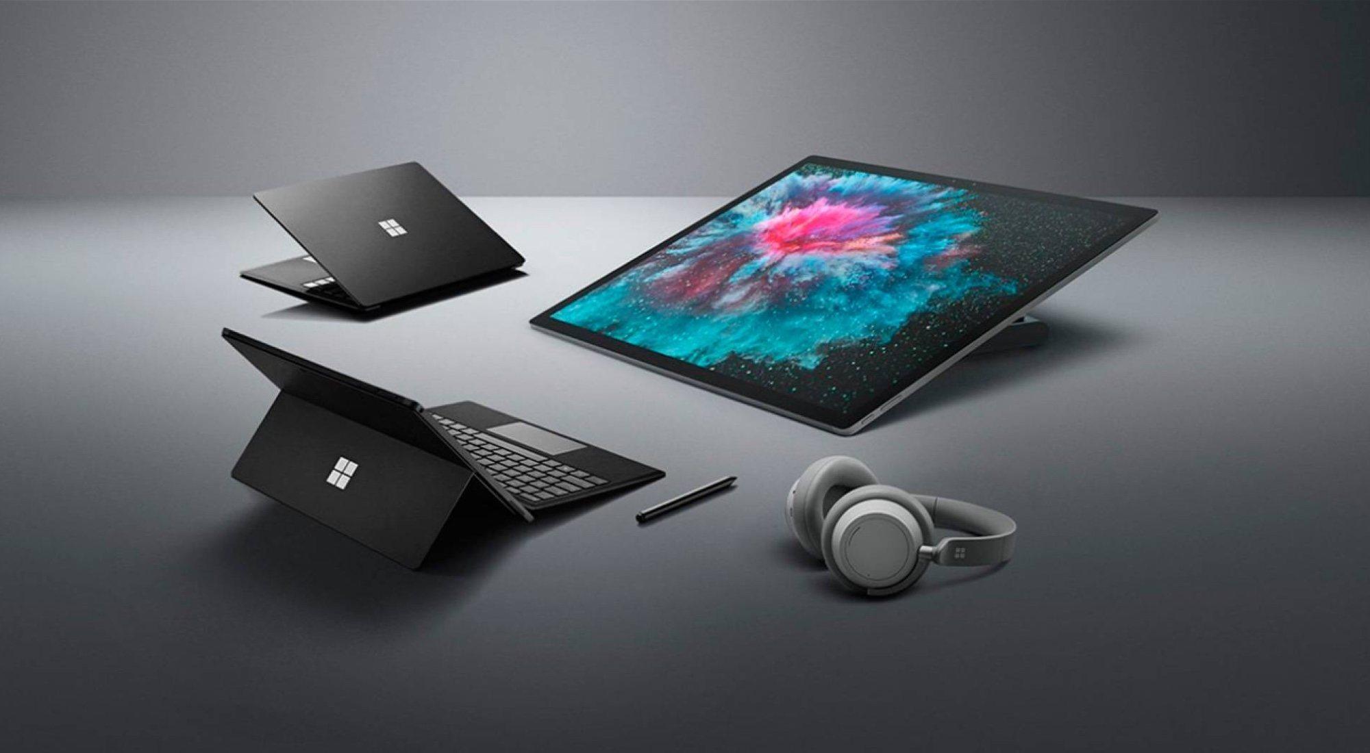 Surface Pro 6, Surface Laptop 2 y Surface Studio 2: Microsoft golpea primero