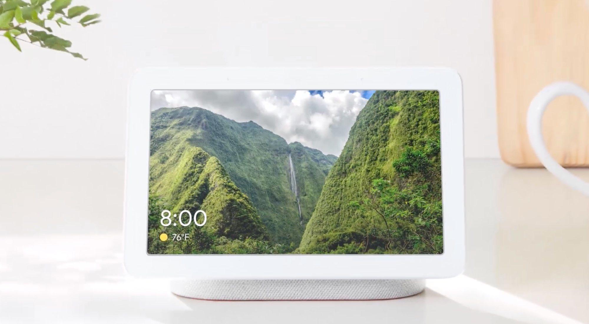 Google Home Hub, el asistente de Google con pantalla