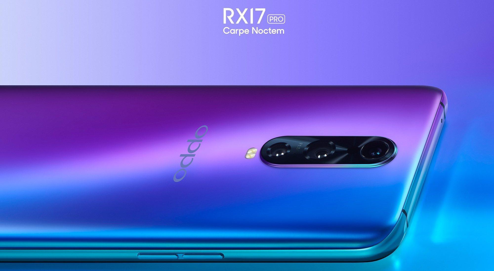OPPO RX17 Pro y OPPO RX17 Neo: características y precio
