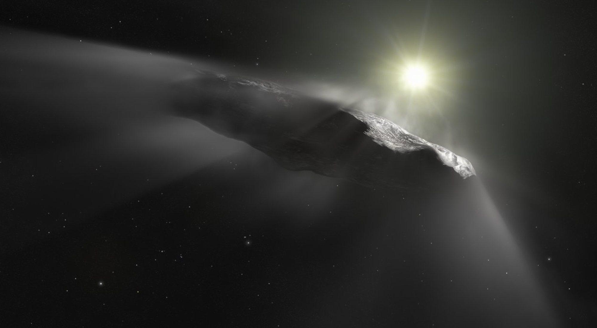 Oumuamua, la posible sonda alienígena enviada a la Tierra que divide a los científicos