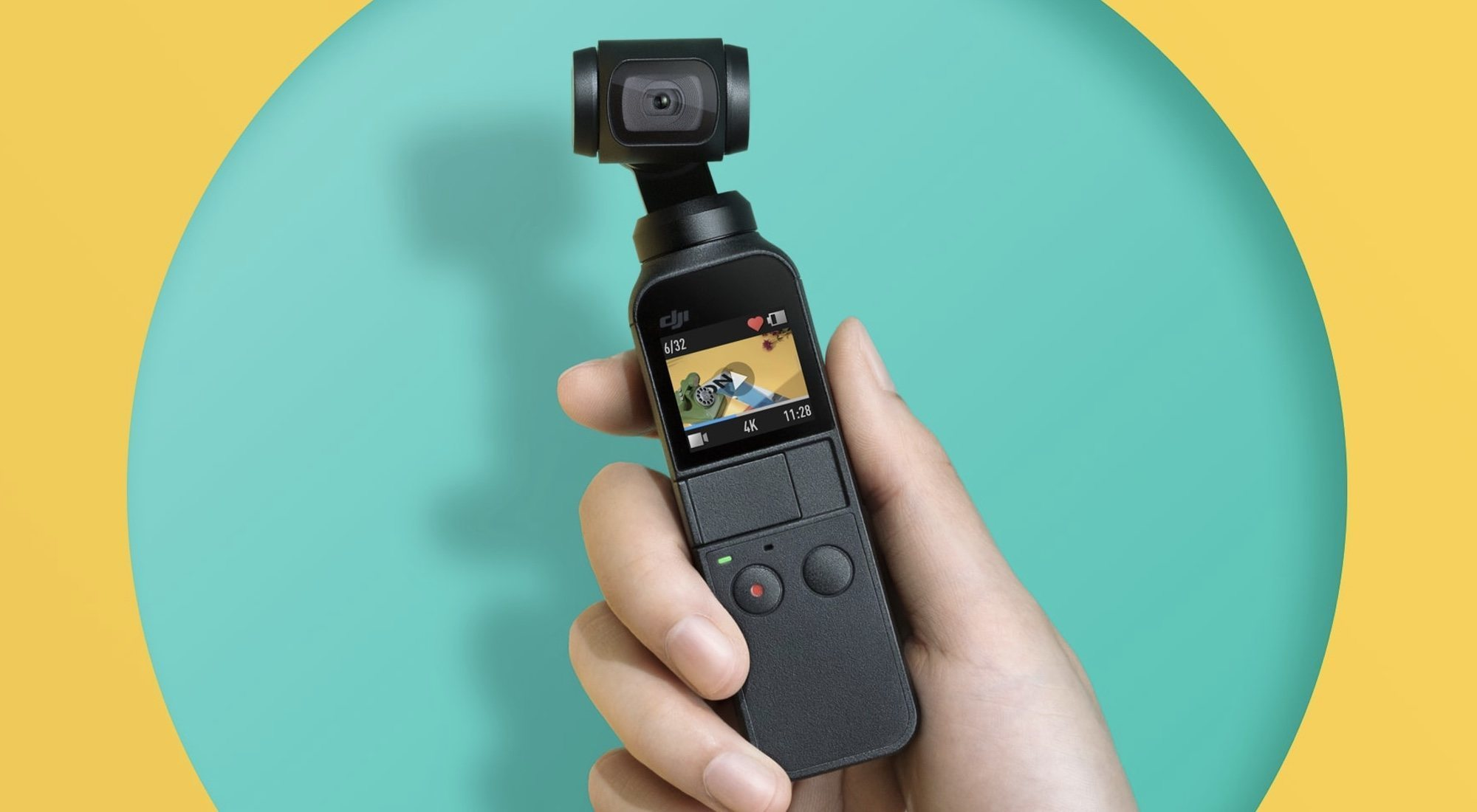 Análisis del DJI Osmo Pocket: la cámara 4K con estabilizador mecánico incorporado