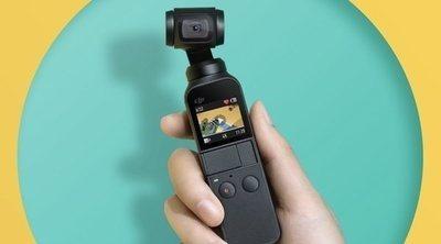 DJI Osmo Pocket: la cámara 4K con estabilizador mecánico incorporado