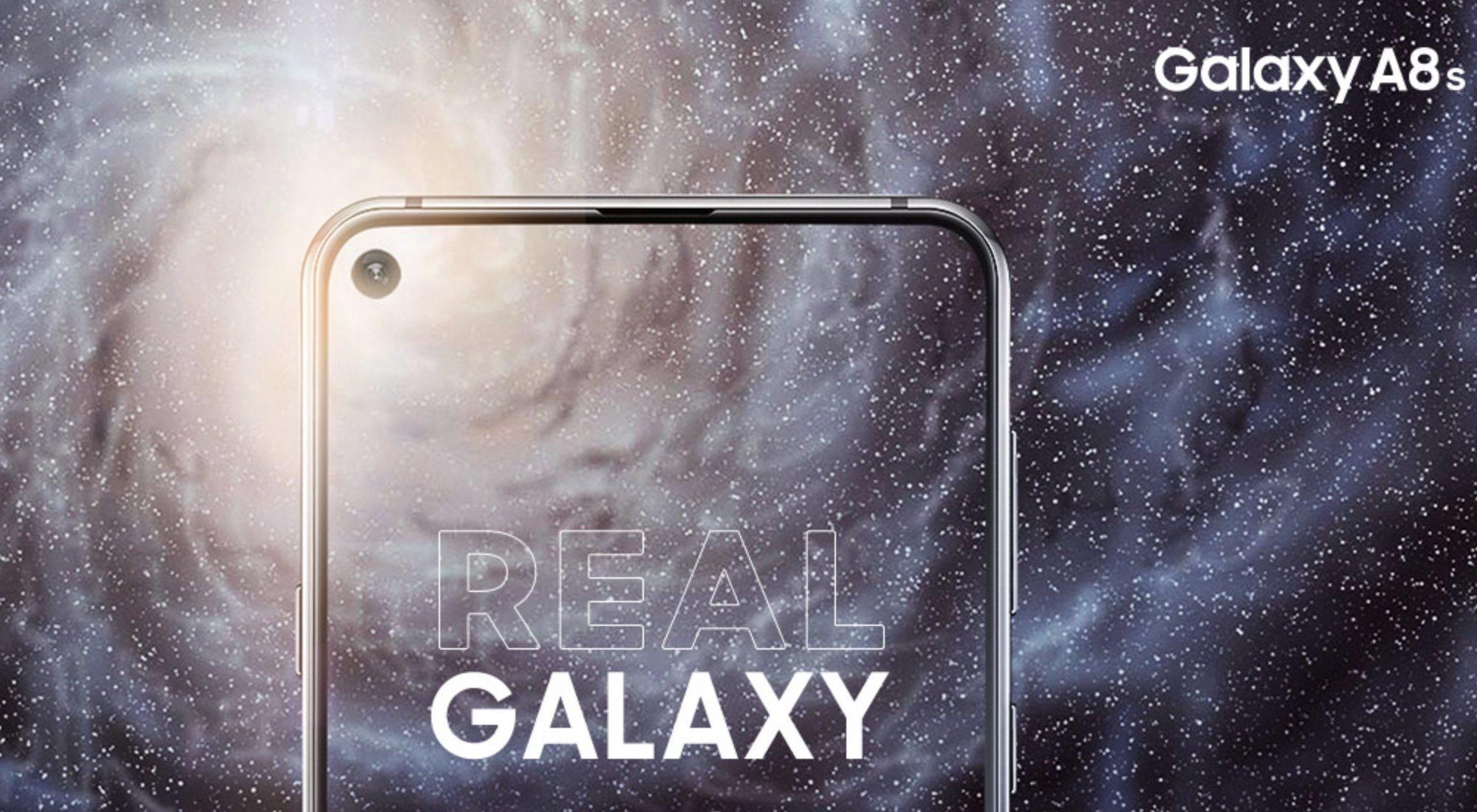 Samsung Galaxy A8s: el móvil que marca un antes y un después con su diseño