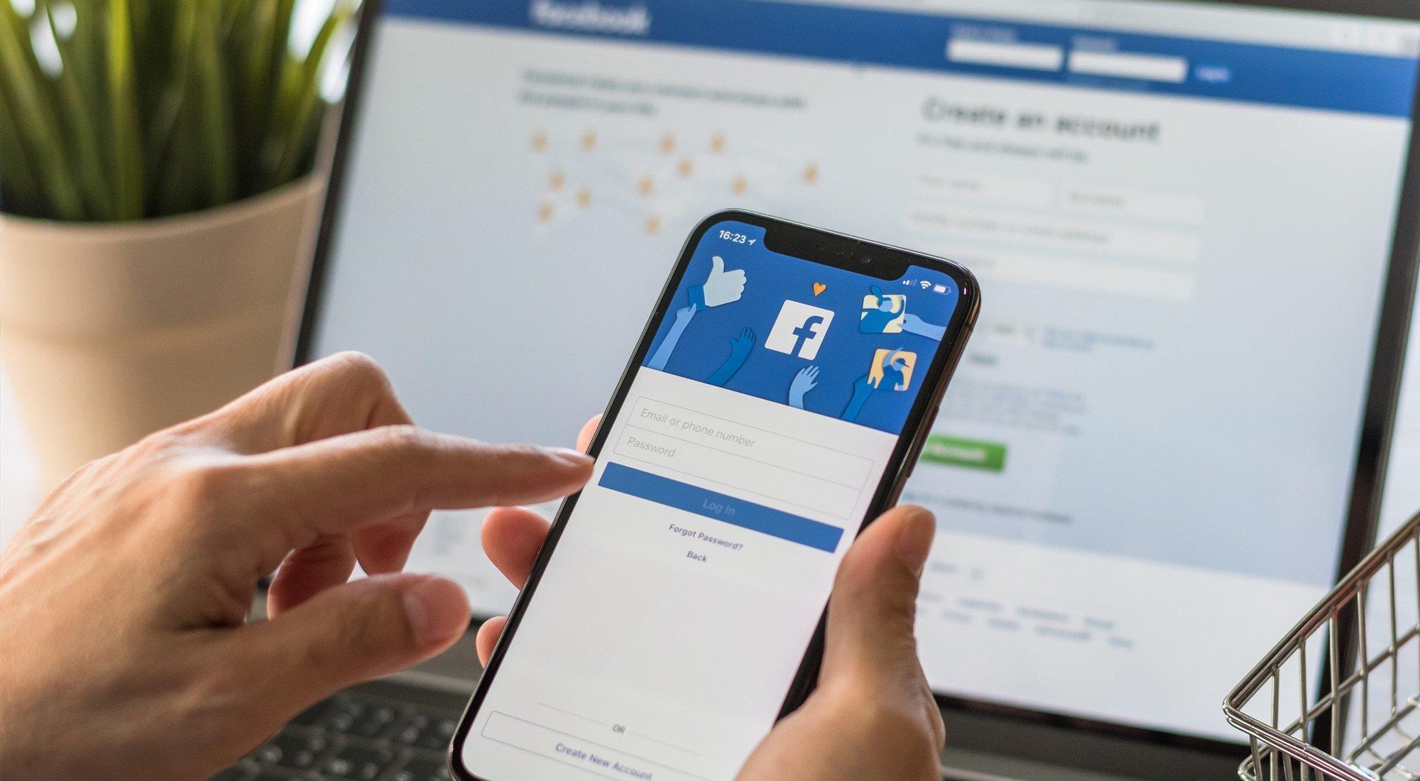 Cómo iniciar sesión en Facebook y activar los ajustes de seguridad