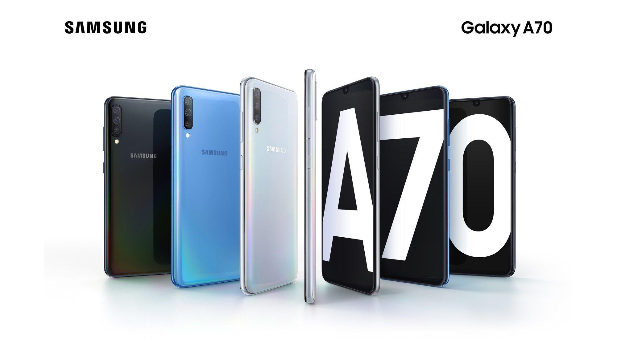 Samsung Galaxy A70, características y precio