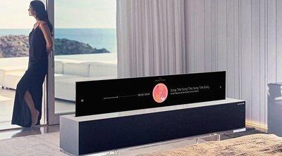 LG Signature OLED TV R: la televisión con pantalla enrollable que lo cambia todo