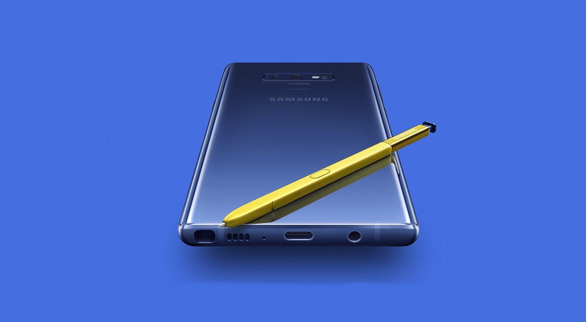 Samsung Galaxy Note 9: precio, novedades, fecha de lanzamiento