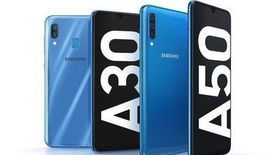 Samsung Galaxy A50 y A30: los refuerzos de Samsung en la gama media