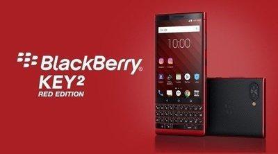 BlackBerry Key 2 Red Edition, características y precio del smartphone con teclado físico