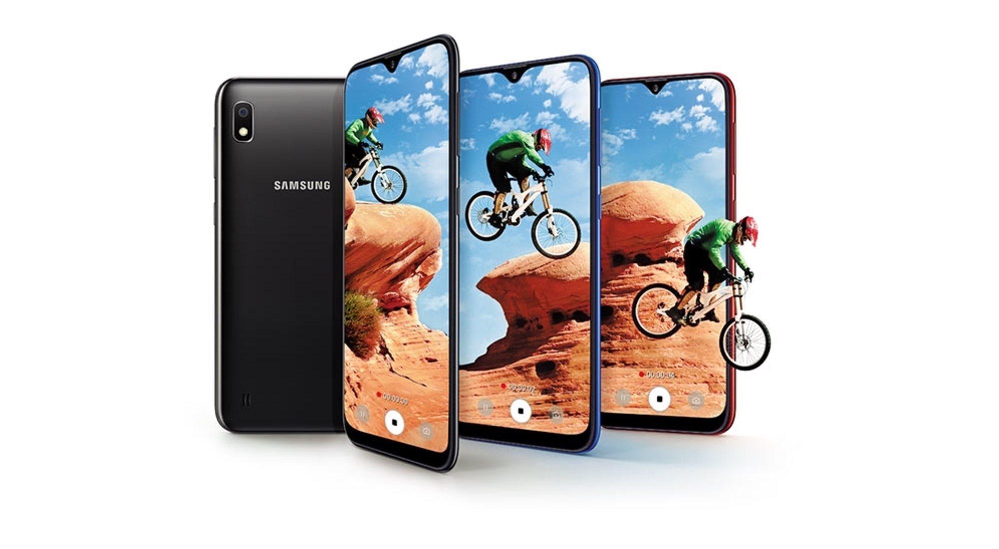 Samsung presenta el Galaxy A10, la base de la pirámide de su gama media