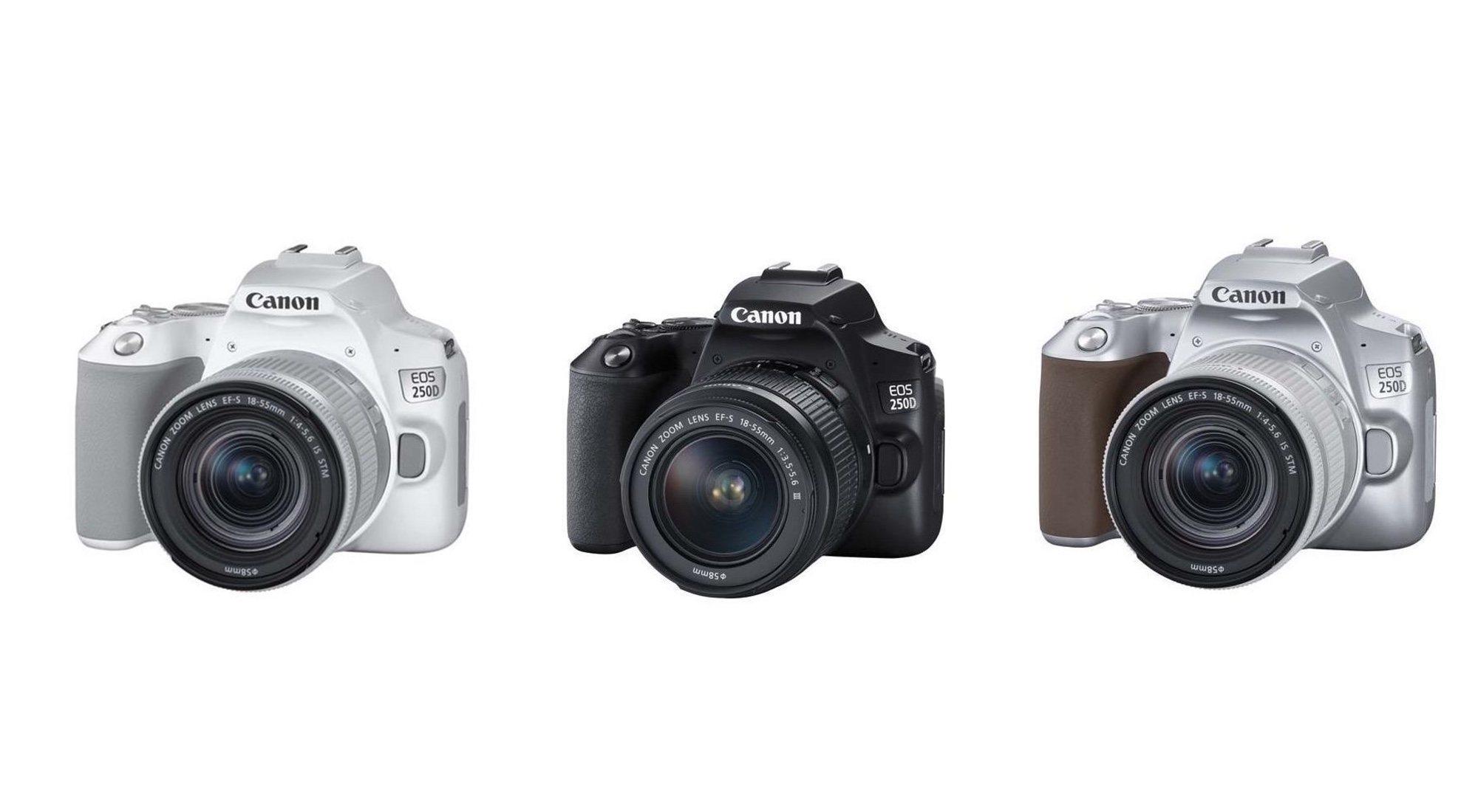 Canon EOS 250D: características y precio de la cámara réflex digital más ligera del mundo