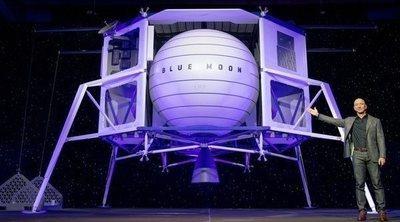 Blue Moon: Jeff Bezos quiere llevarnos a la Luna en 2024