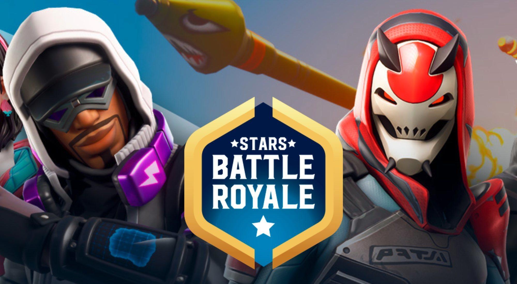 Fortnite Stars Battle Royale: 100 youtubers y famosos, 1 ganador