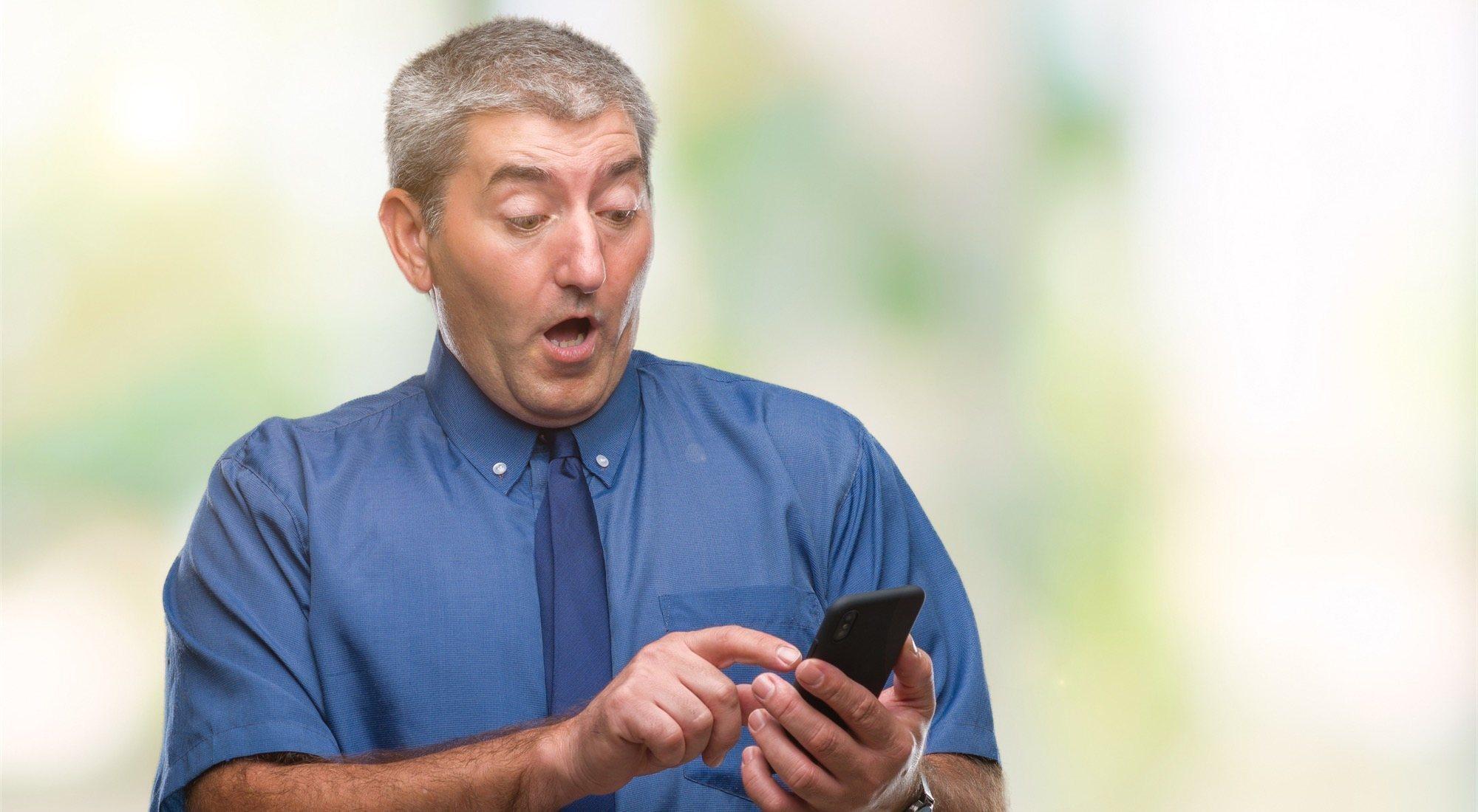 Los graves errores de los adultos con los móviles