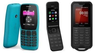 Nokia vuelve a los clásicos: Nokia 2720 Flip, Nokia 800 Tough y Nokia 110