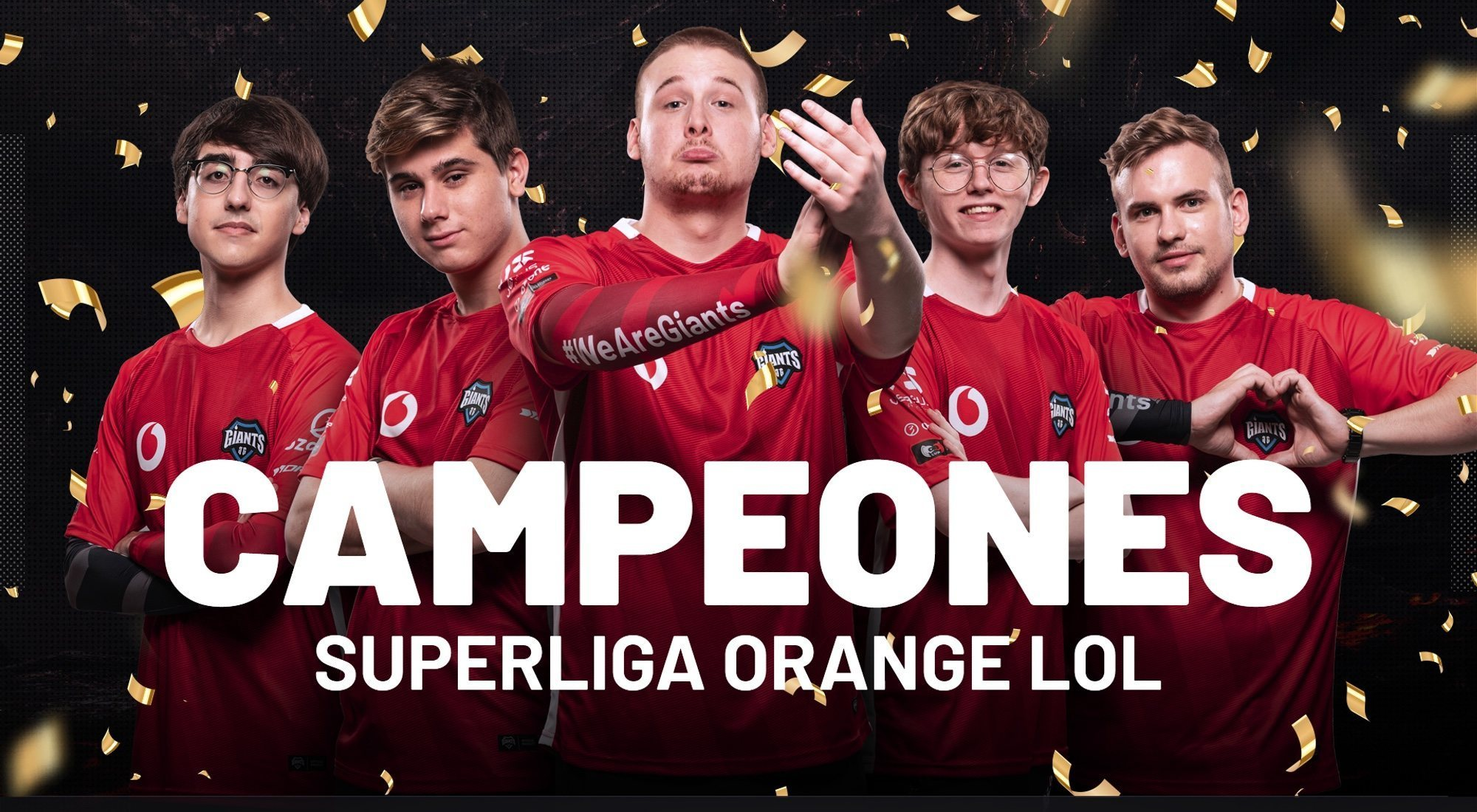 Final Superliga Orange LoL: Vodafone Giants aumenta su leyenda