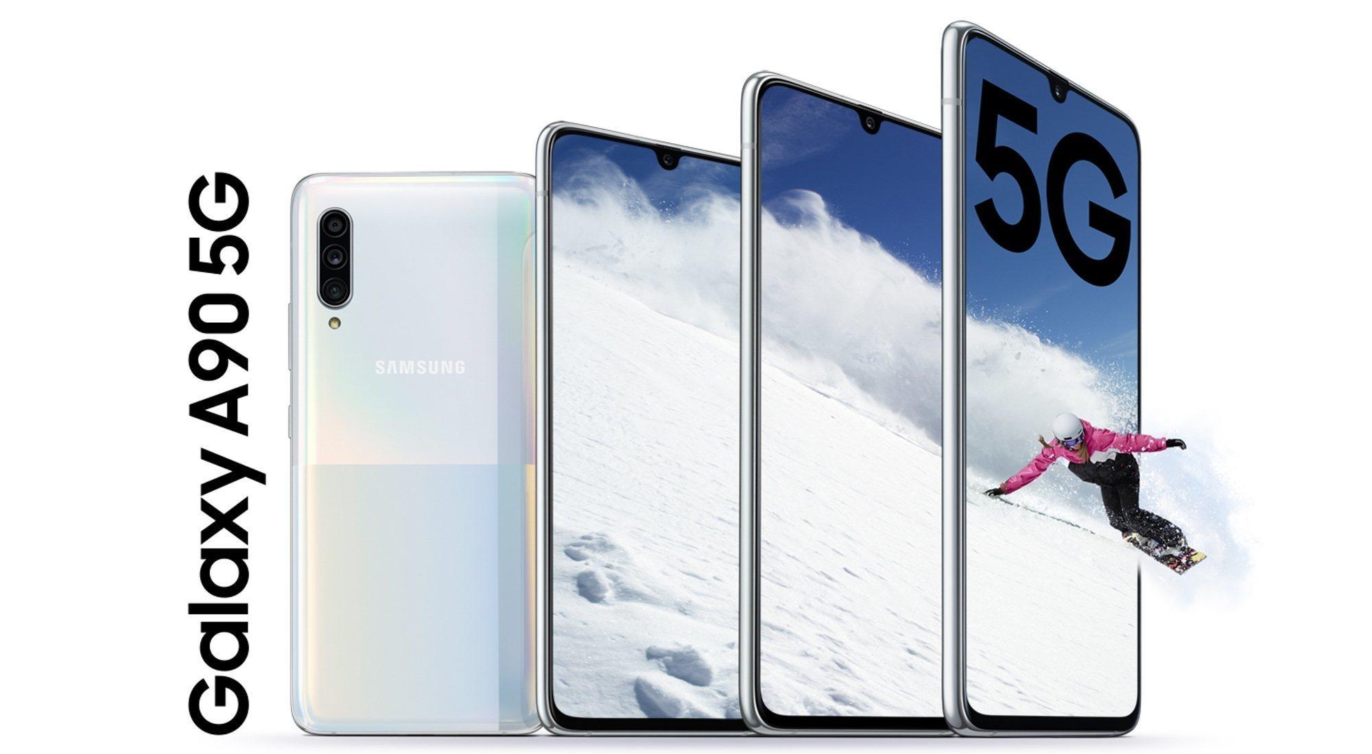 Samsung Galaxy A90 5G: características, precio y ficha técnica