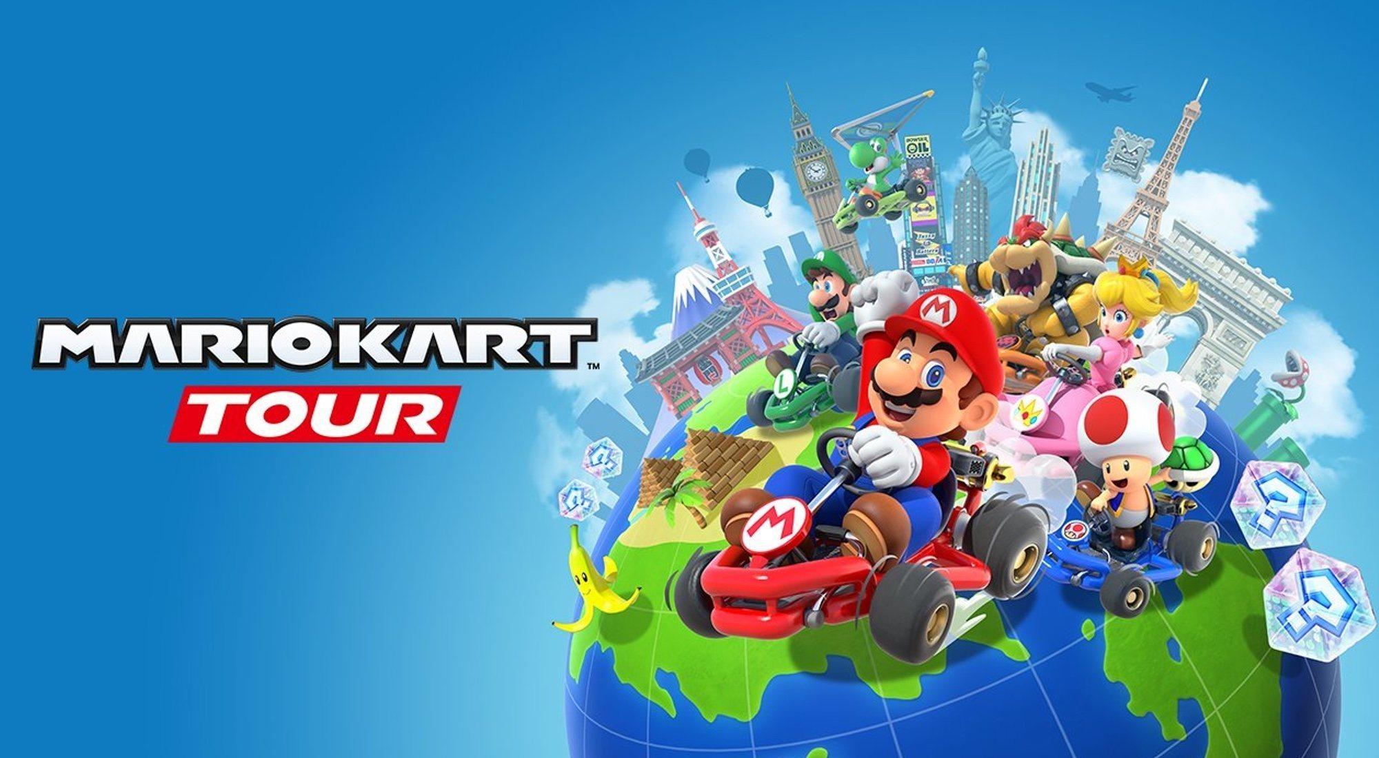 Mario Kart Tour para móvil: personajes, precio y características