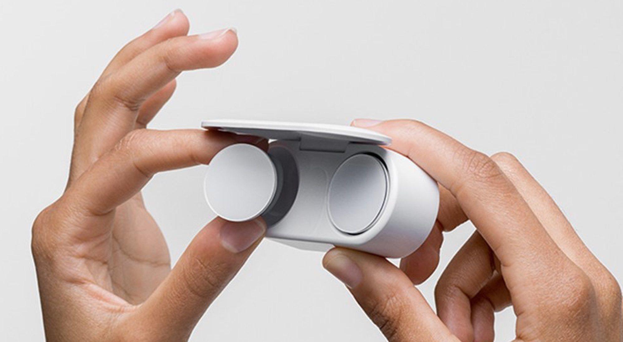 Surface Earbuds, los auriculares de Microsoft más espectaculares