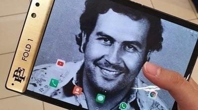 Escobar Fold 1: un móvil plegable al estilo de Pablo Escobar