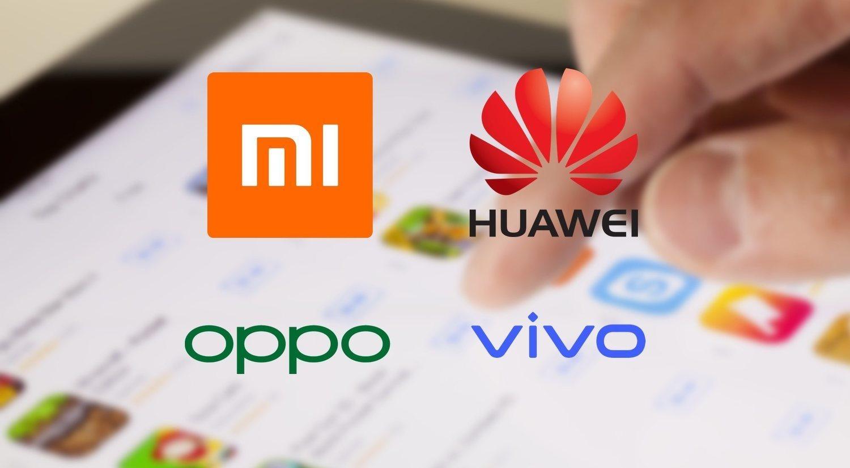 Huawei, Xiaomi, Oppo y Vivo, contra la Play Store de Google