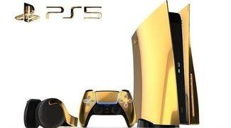 PS5: habrá versiones en oro de 24 quilates, platino y oro rosa de PlayStation 5