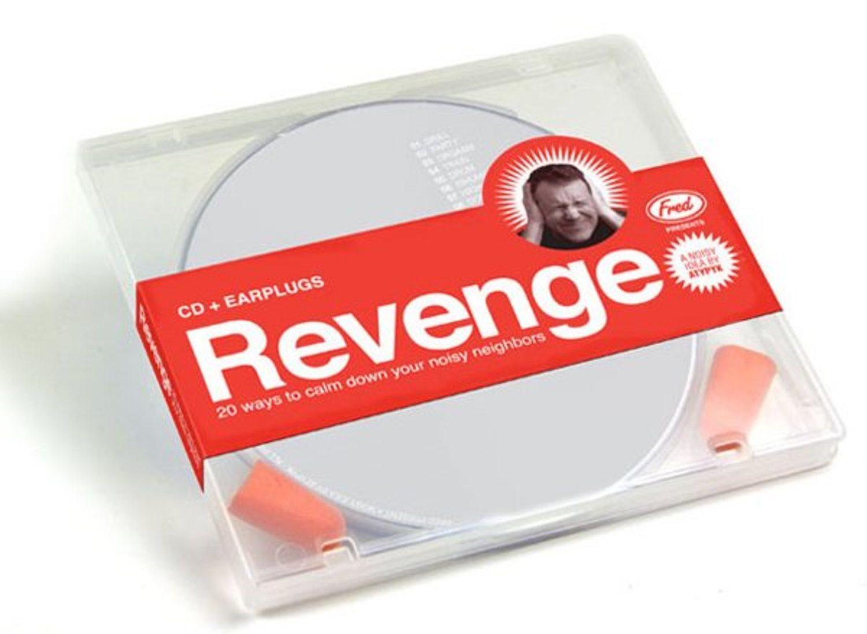 Un CD que sólo contiene sonidos desagradables para molestar a alguien. Y no, no es reggaeton.