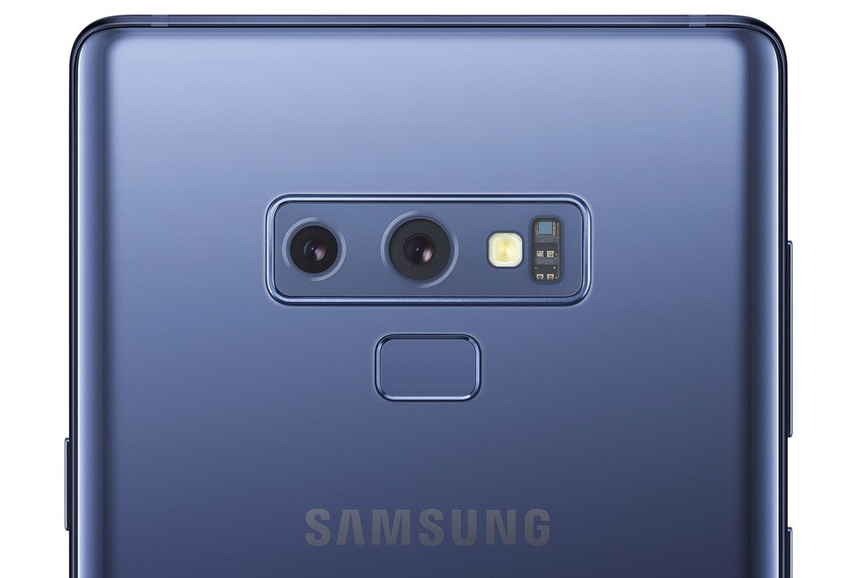 El sensor dactilar del nuevo Galaxy Note 9 se encuentra ahora separado debajo de las cámaras