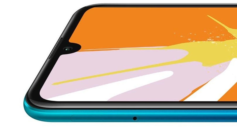 El notch en forma de gota de agua, lo más destacado del diseño del Huawei Y7 Pro 2019.