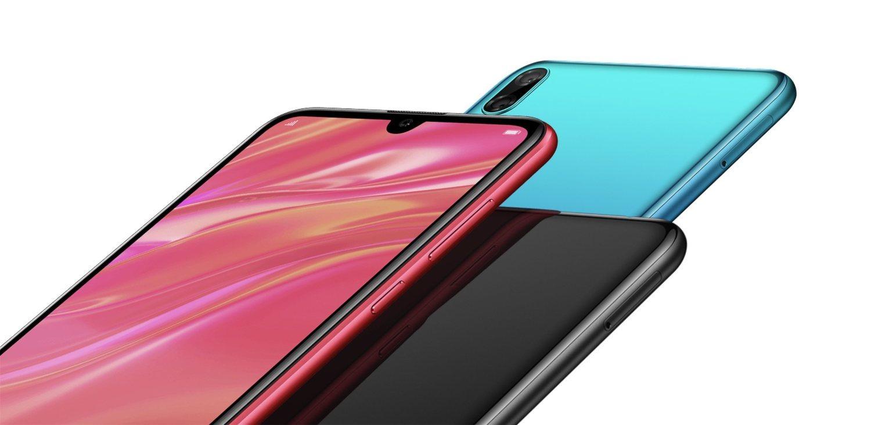 Aunque en la web de Huawei Vietnam aparece una versión en rosa, en las especificaciones técnicas solo se hace mención al azul y al negro.