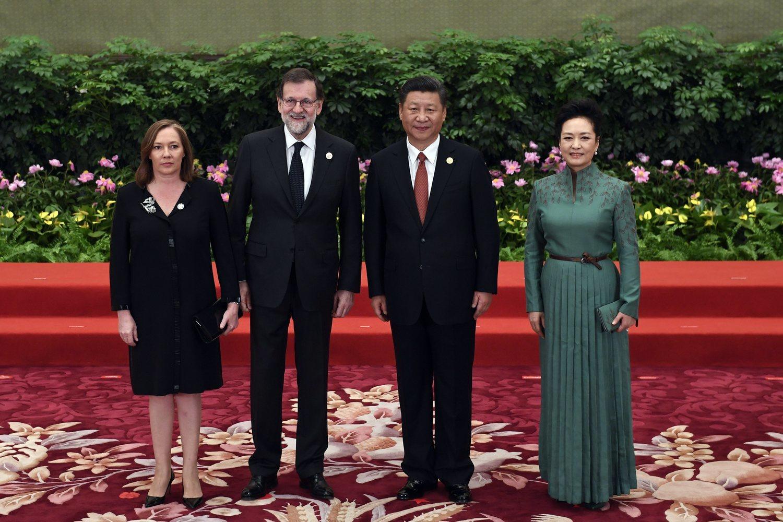 El que fuera presidente de España en 2014, Mariano Rajoy, asistió aquel año al foro de la Nueva Ruta de la Seda celebrado en China.