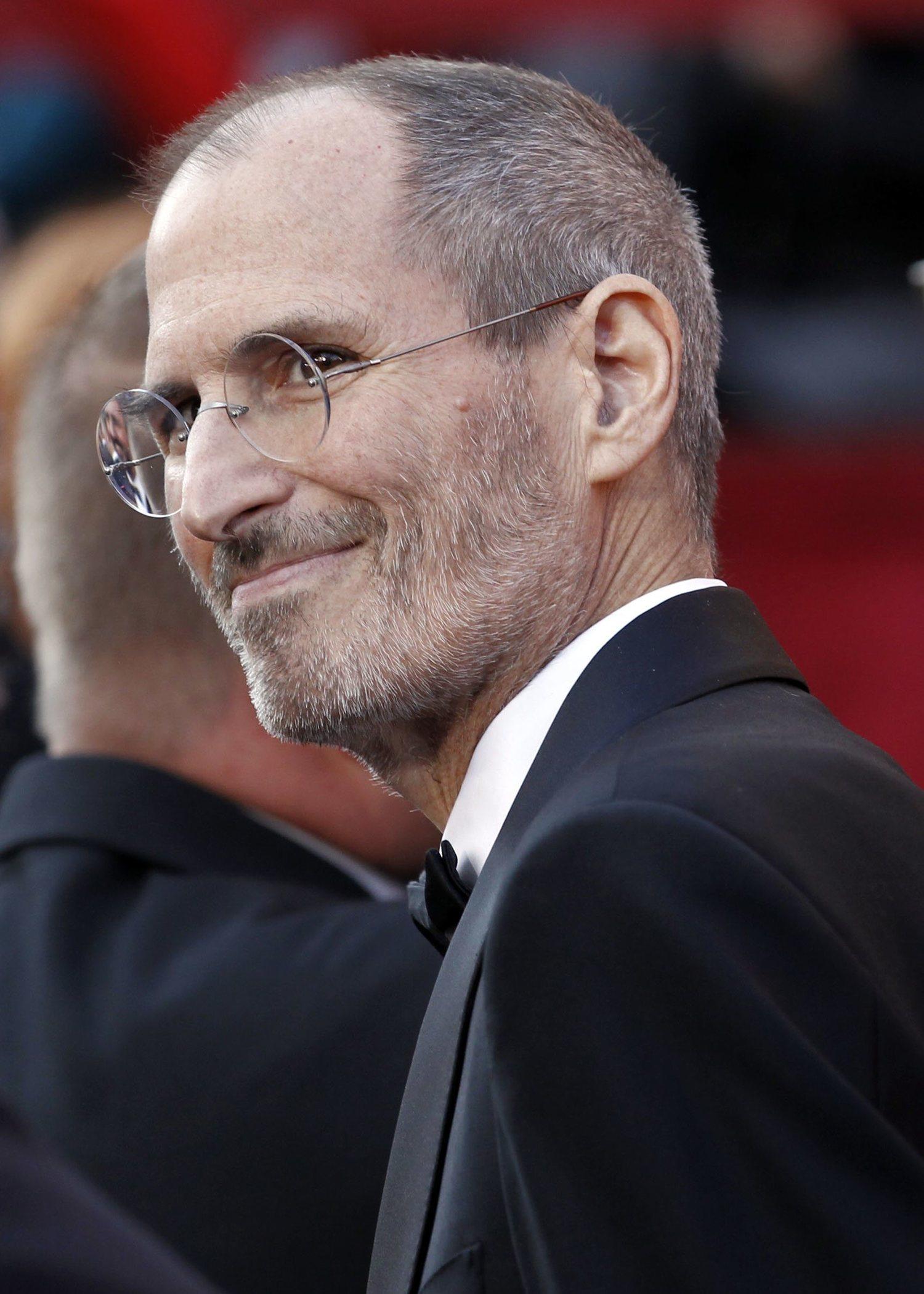 Steve Jobs, el CEO más influyente de la historia, en la gala de los Óscar.