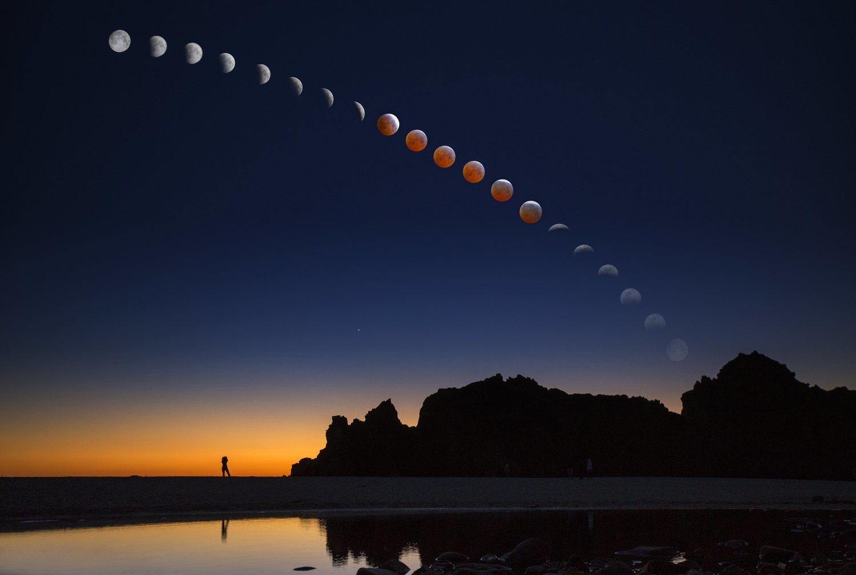 La luna roja, o de sangre, es sin duda el fenómeno astronómico que más ha influido en el imaginario colectivo