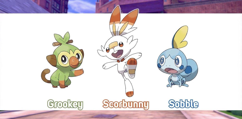 Grookey, Scorbunny y Sobble son los iniciales de Pokémon Espada y Pokémon Escudo. ¿Con cuál te quedas?