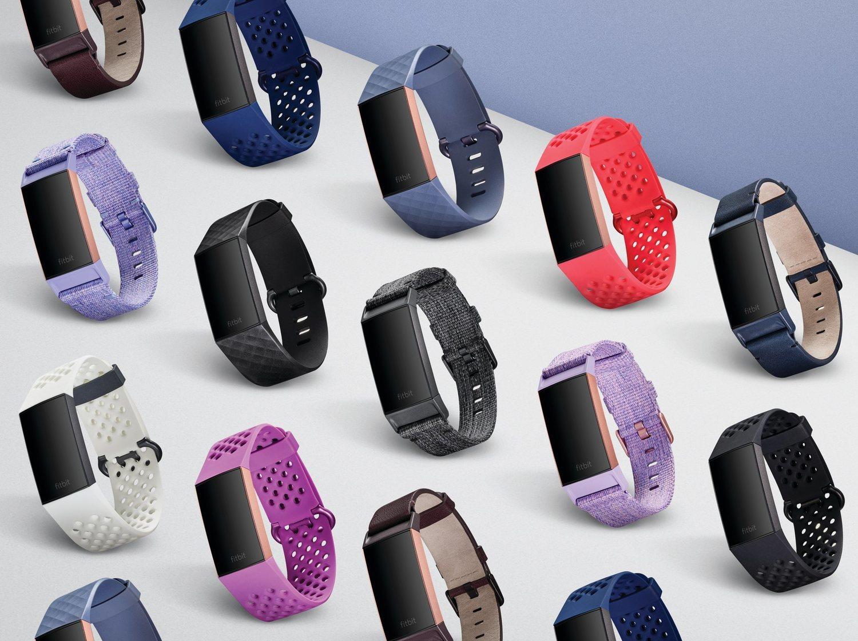 La nueva Fitbit Charge 3 estará disponible en dos modelos y contará con nuevas correas.
