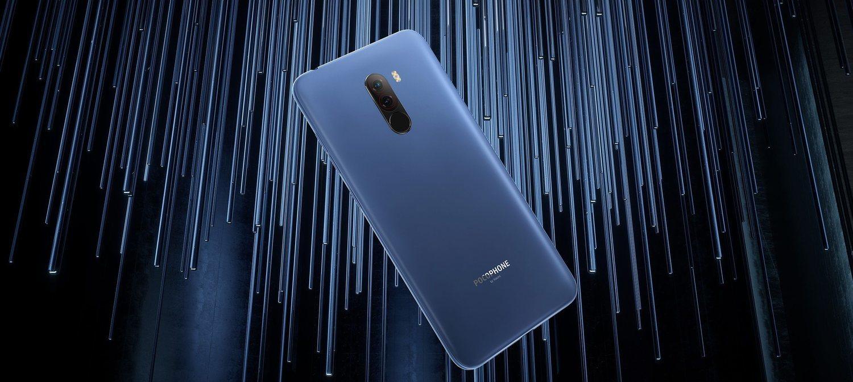 Imagen del Pocophone F1, versión azul acero