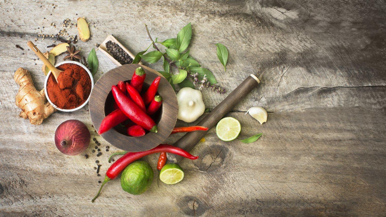 La cayena, la lima o la cúrcuma son también sustancias quemagrasas