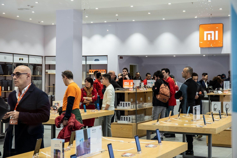 La mayoría de las tiendas de Xiaomi son franquicias