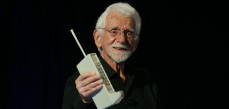 Martin Cooper representa mucho más que el creador del primer móvil del mundo