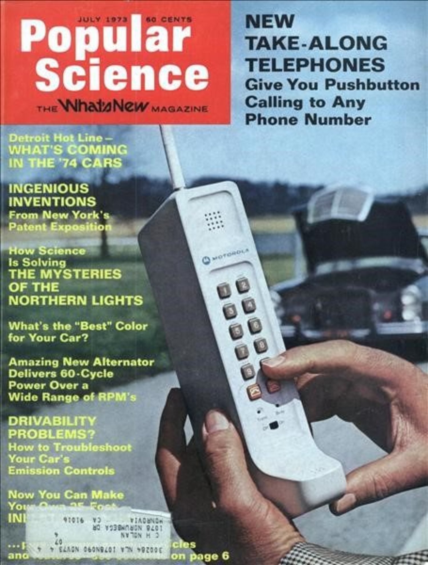 Portada de la revista 'Popular Science', una de las entregas de divulgación científica más importante de la época