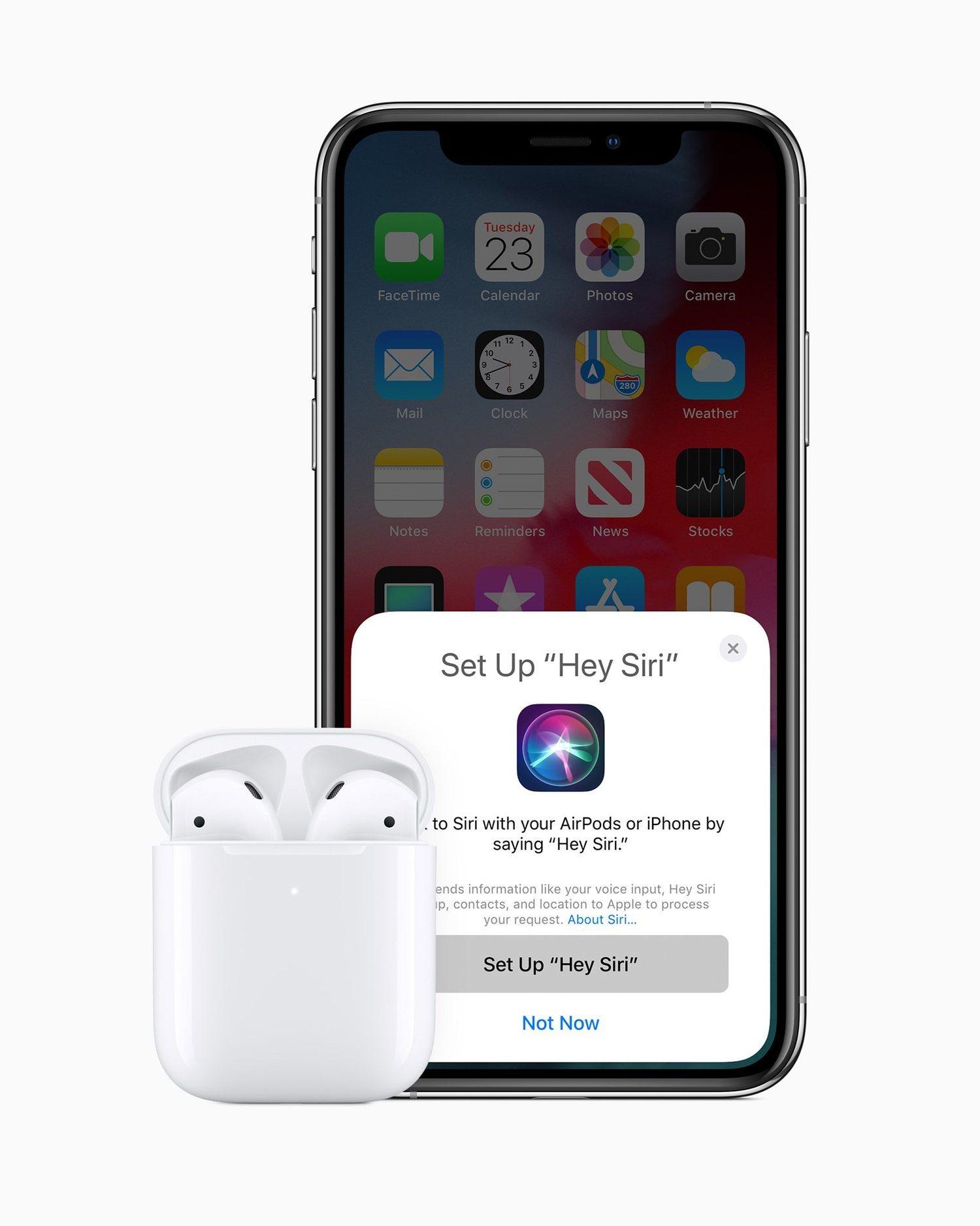 Los AirPods cuentan con la inestimable ayuda de Siri.