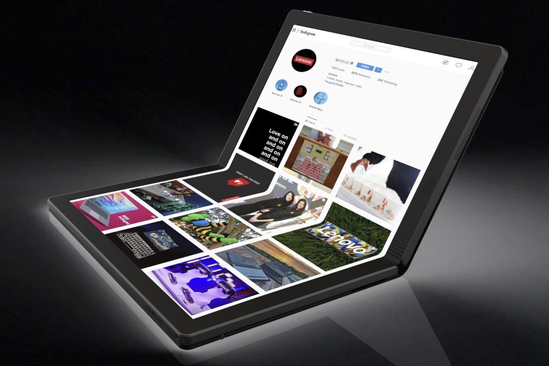El portátil plegable Thinkpad X1 es la gran apuesta de Lenovo para el próximo año.