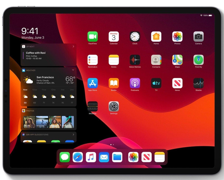El Dark Mode ya existía en los iPhone, pero ahora llega a iPad