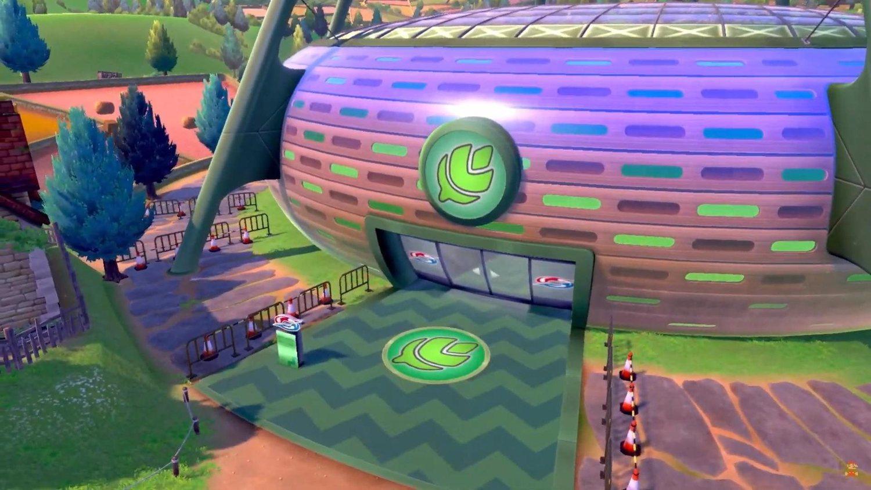 Los gimnasios serán espectaculares, para que los Pokémon gigantes campen a sus anchas.