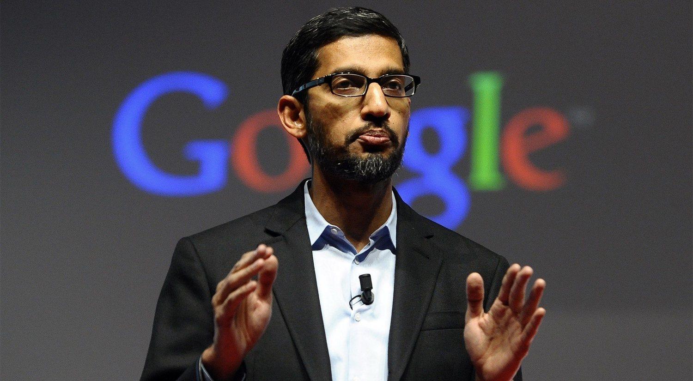 Sundar Pichai es el CEO de Google desde 2015