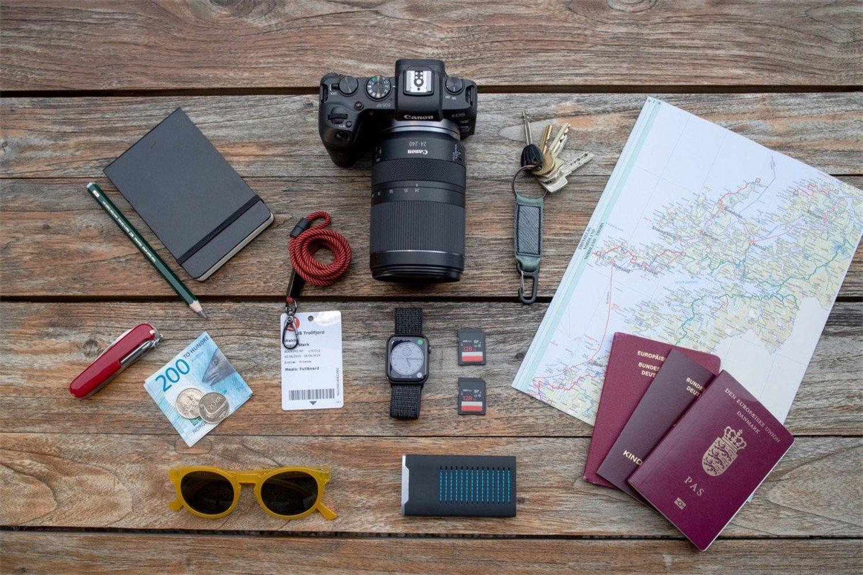Este objetivo es ideal (aunque bastante grande) para tus viajes por medio mundo