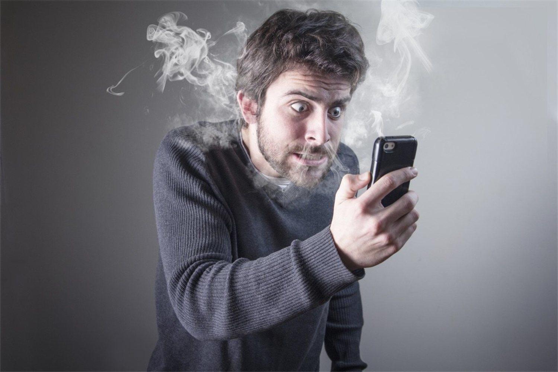Que te salga humo por las orejas por no tener cobertura dura solo un día o dos
