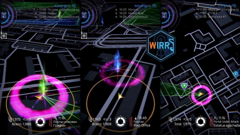 Los portales constituyen el elemento clave del juego. El objetivo es que los jugadores de una facción controlen todos los que puedan.