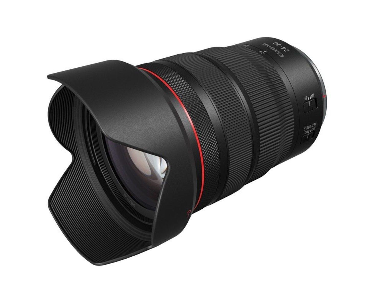 800 gramos pesa el objetivo Canon RF 24-70mm F2.8L IS USM